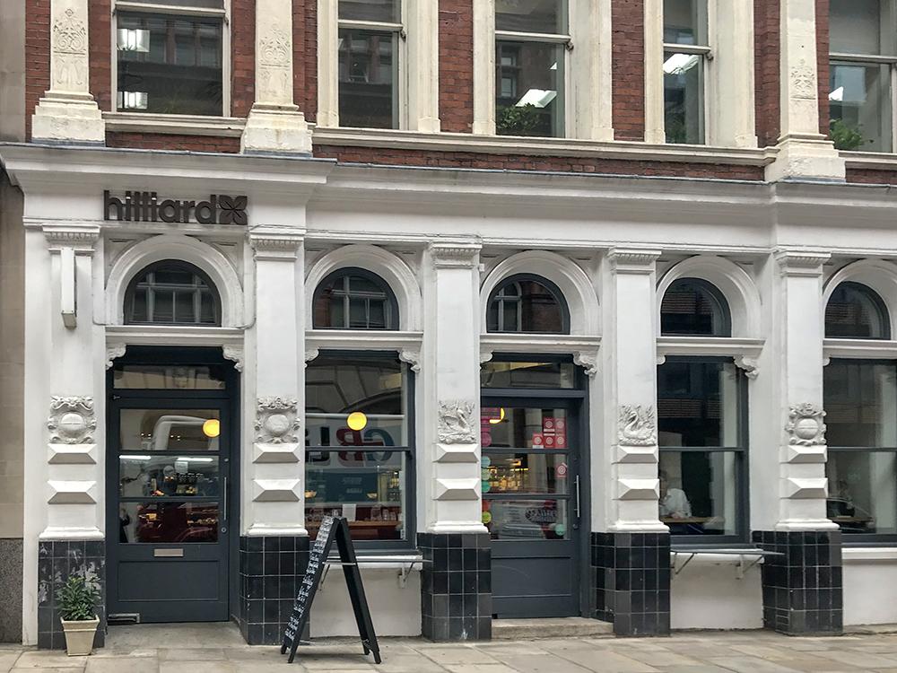 Hilliards Café London Blackfriars