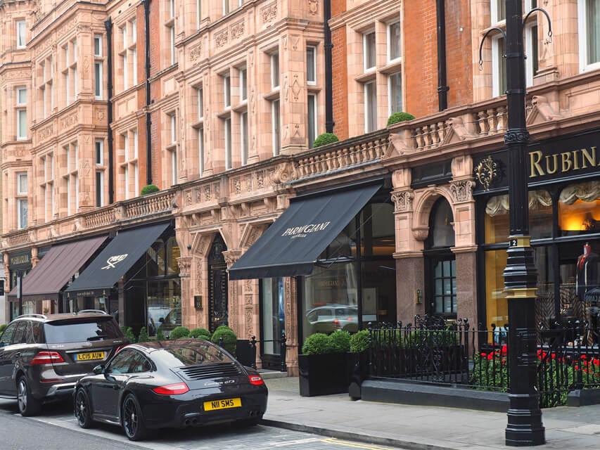 Mayfair restaurant