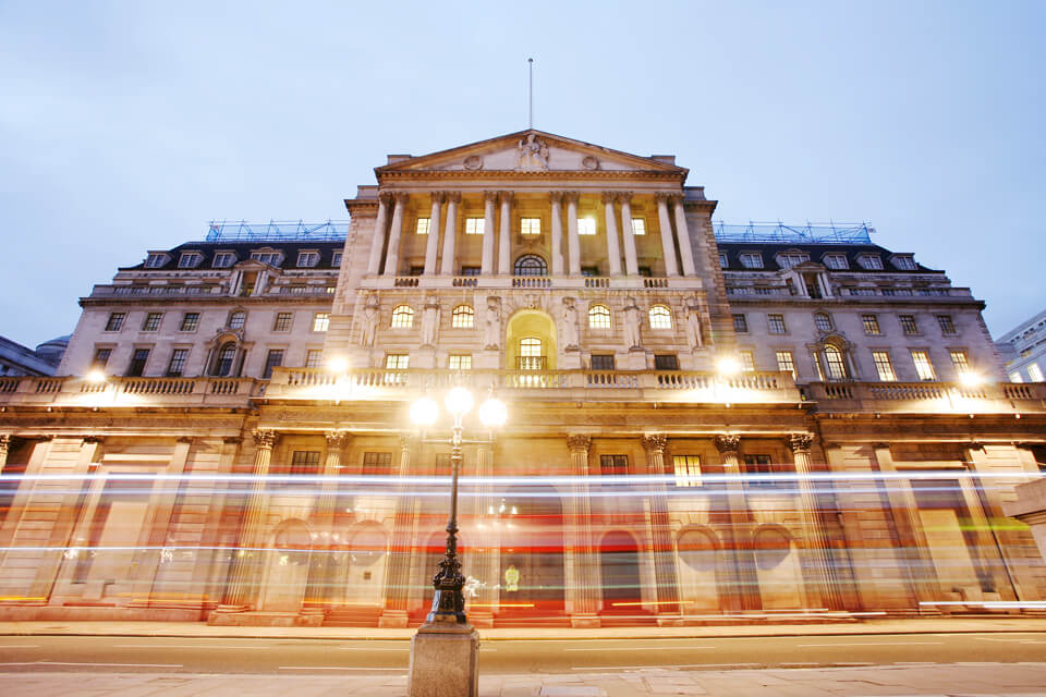 Monument Bank of England