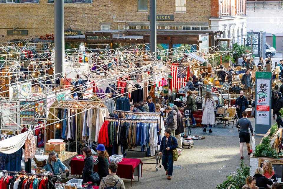 Liverpool Street shopping