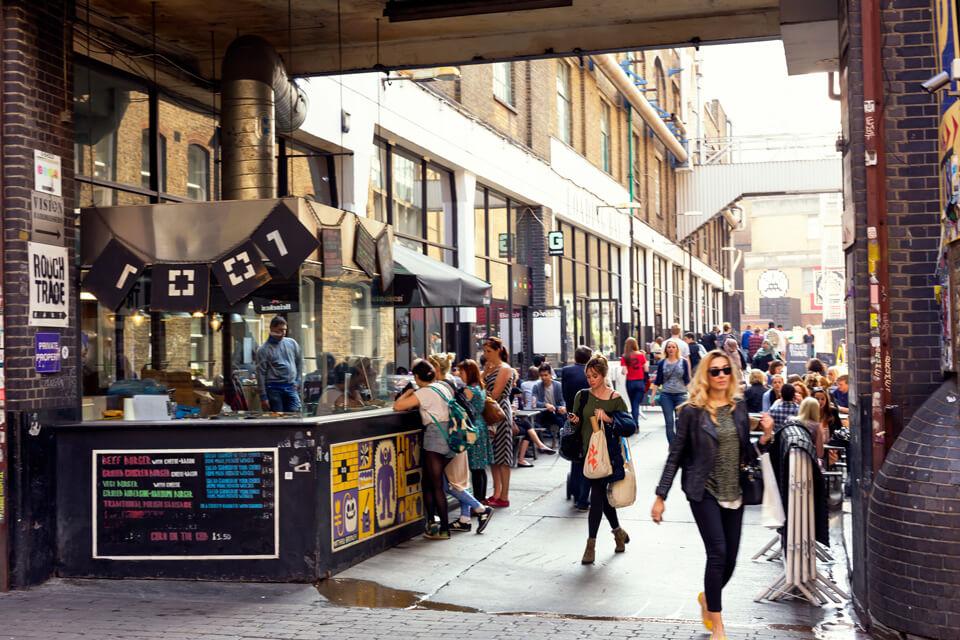 Liverpool Street markets