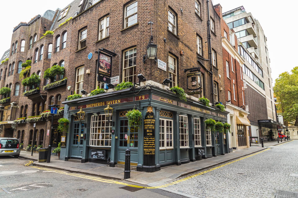 Mayfair pub
